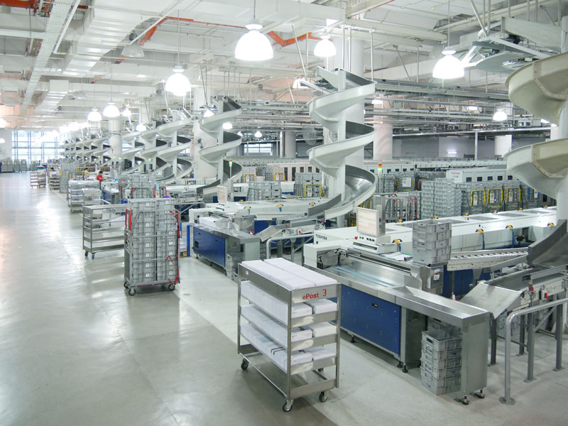 Singapore's New Automated Integrated Sorting System From Toshiba Now Ready for Operation