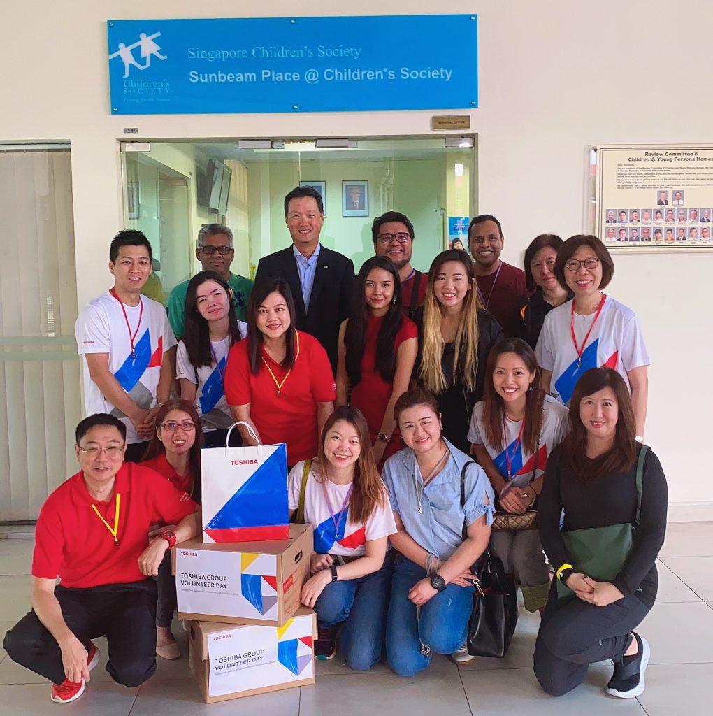 Toshiba Group Volunteer Days 2019